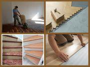 Parkett Schleifen Verlegen Treppen Renovieren