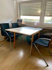 4 hochwertige Esszimmerstühle Stühle mit