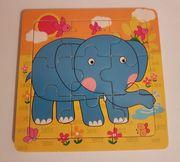 2 Kinderlernbücher und 2 Holzpuzzle