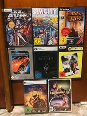Computerspiele zu verkaufen