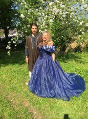 ausgefallenes und wunderschönes Hochzeits Ballkleid