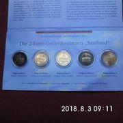 Deutschland Länderserie 2 Euro Saarland