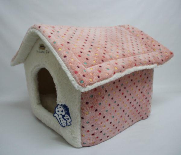 Hundehütte Modell Modell Morbida rosa