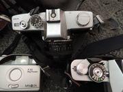 Fotos Minolta und Grundig Kamera