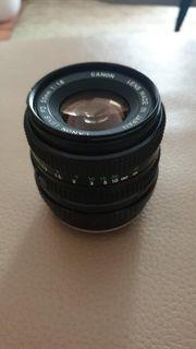 Canon 50mm 1 8