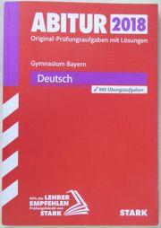Schulbuch Deutsch Abitur 2018 Bayern