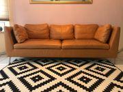 Leder-Couch