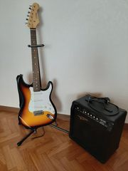 Zu verkaufen eine E-Gitarre