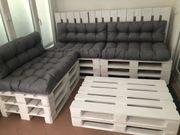 Gartenmöbel Lounge aus Paletten incl