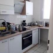 Küchenzeile 270 cm breit neuwertig