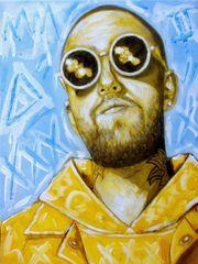 Mac Miller Original Kunst Bild