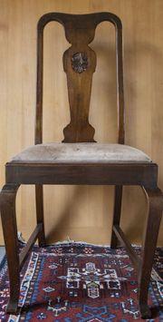 Alte Esszimmer Stühle