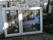 Neues zweiflügiges Fenster 186 cm