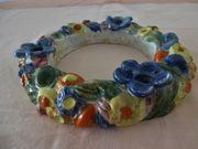 Kerzenhalter SEHR exclusiv Handarbeit Keramik