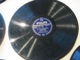 CDs, DVDs, Videos, LPs - Alte Schallack-Schallplatten aus den 50er