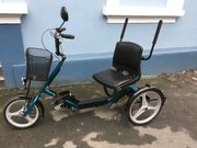 Dreirad für Erwachsenen Seniorenrad Therapiedreirad