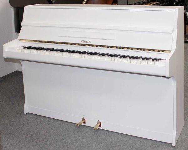 Klavier Thein weiß satiniert 102