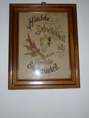 Antike Stoffbilder aus Oberbayern mit