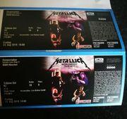 Metallica Konzertkarten München