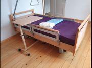 Pflegebett elektrisch Absolut neuwertig der