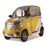 Stormborn X8 AC Elektro-Kabinenfahrzeug - gelb weiß