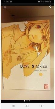 Love Stories Manga 1-8