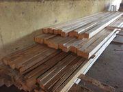 Kantholz und Brennholz