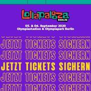 2 Lollapalooza Tickets Berlin 2020