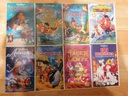 Verschiedene Disney VHS Kasetten