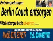 Sofort Sofa Möbel entsorgen Berlin