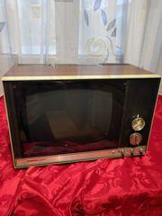 Alter Schwarzweiß-Fernseher