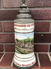 Bierkrug Riegeler Brauerei