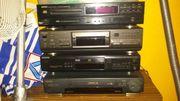CD Anlagen Denon technics Sony