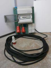 Baustromverteiler mit Zuleitung