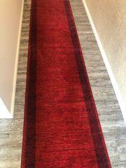 Teppich Läufer rot