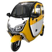 Stormborn Y8 GT Elektro-Kabinenfahrzeug - gelb weiß
