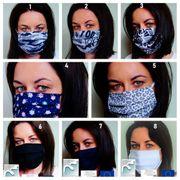 Behelfsmaske Mund Nase Maske Gesichtsmaske