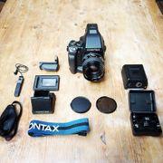 Contax 645 Mittelformat Spiegelreflexkamera Kit
