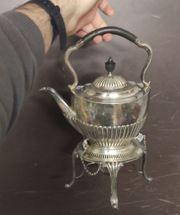 Vintage Teekanne mit integriertem aber