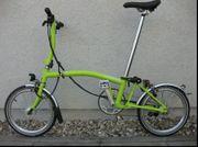 Faltrad Brompton S6LD lemon green