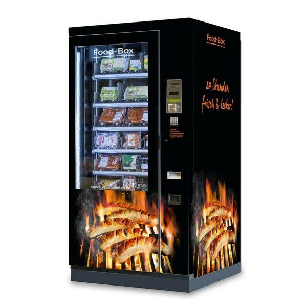 Wurstautomat mit Lift und Kühlung -