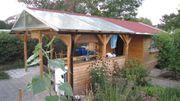 Gartenhaus mit Schattendach