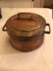 Kochtopf aus Kupfer innen verzinnt