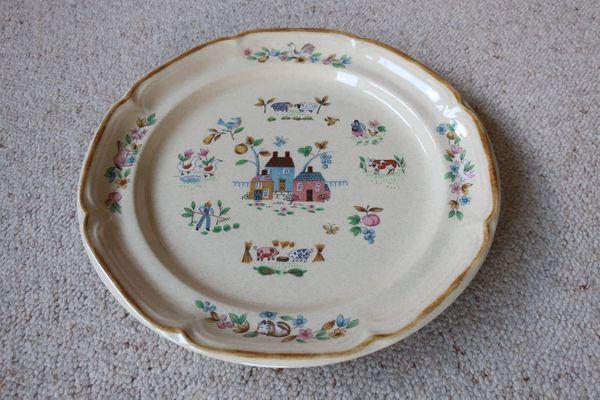 Verkaufe Porzellan Teller International Tableworks