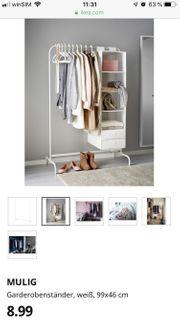 Ikea Kleiderstange weiß