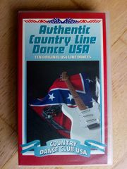 VHS-Kassette Authentic Country Line Dance