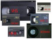 Überspielung von allen Videokassetten und