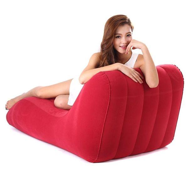 S-Form Sex-Sofa Lounge Möbel mit komfortablen Beflockung