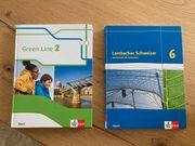 Mathematik und Englischbuch Klasse 6