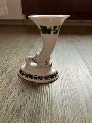Meißner Porzellan Weinlaub Vase